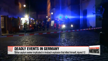 Two more deadly events rattle Germany