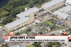 At least 19 dead and dozens injured in attack at facility for disabled in Japan