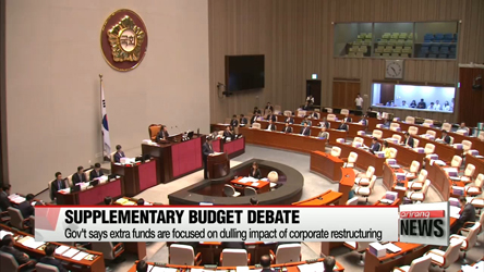 Gov't submits supplementary budget bill to National Assembly