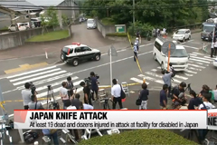At least 19 dead and dozens injured in knife attack in Japan