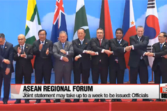 ASEAN Regional Forum wraps up with tensions remaining