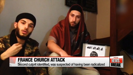 Second culprit in France church attack was suspected of radicalization