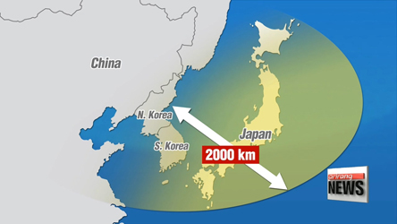 N. Korea's SLBM reaches Japan's ADIZ for first time