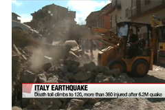 Death toll climbs to 120, more than 360 injured after 6.2M Italy quake