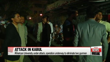 Gunfire and explosions reported at American university in Kabul