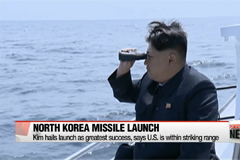 Kim Jong-un hails SLBM launch as 'greatest success'