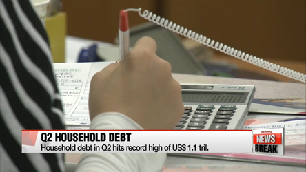 Gov't lays out plan to tackle household debt, at US$1.1 tril. in Q2