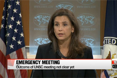 UN Security Council holds emergency meeting on N. Korea's SLBM launch