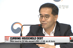 Gov't announces fresh household debt control measures