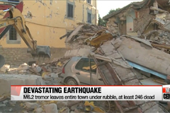 Central Italy hit by devastating quake killing hundreds, rescue efforts ongoing