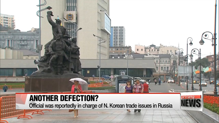 N. Korean diplomat in Russia reportedly latest in series of defections