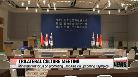 8th Korea-China-Japan Culture Ministers' Meeting kicks off