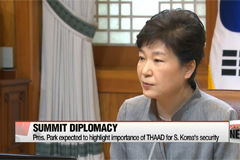Pres. Park prepares for summits in China, Russia