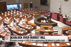 Scheduled passage of US$9.8 bil. supplementary bill delayed as parties clash