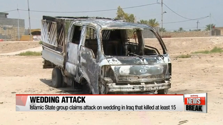 ISIS attack wedding in Iraq, killing at least 15