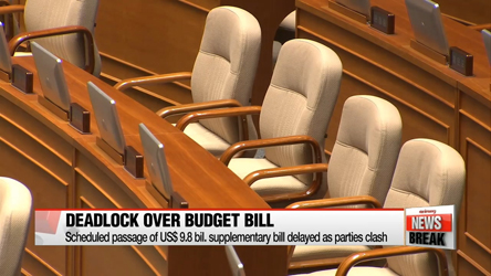 Political parties trade blame for failure to pass supplementary budget bill