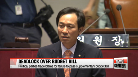 Political parties mired in deadlock over passage of $9.8 bil. supplementary budget