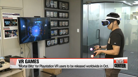 Content developers aim to make VR more popular through games
