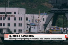 N. Korean leadership struggling for funds under current int'l sanctions: S. Korean minister