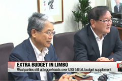 Rival parties still at loggerheads over US $9.8 bil. budget supplement