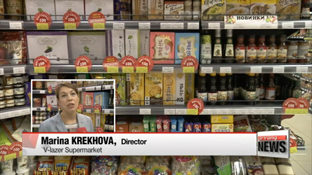 Korea's food exporters have strong market in Russia's far east