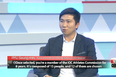Exclusive Interview: Olympic gold medalist-turned-IOC member Ryu Seung-min