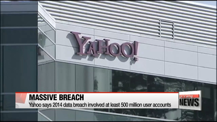 Yahoo says 2014 data breach involved at least 500 million user accounts