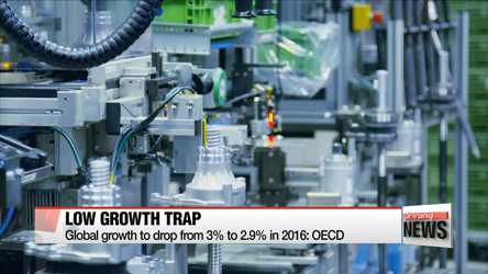 Global economy mired in slow growth, Korea to grow 1% in 2017