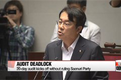Parliamentary audit kicks off without ruling Saenuri Party