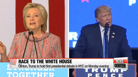 America holds breath ahead of historic presidential debate