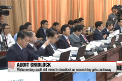 Parliamentary audit still mired in deadlock on second day
