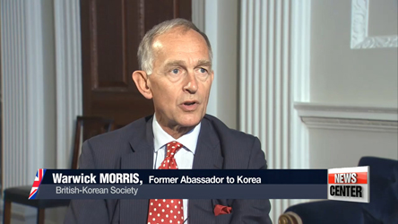 Sit-down with Warwick Morris, former Ambassador and Executive Chairman of British-Korean Society