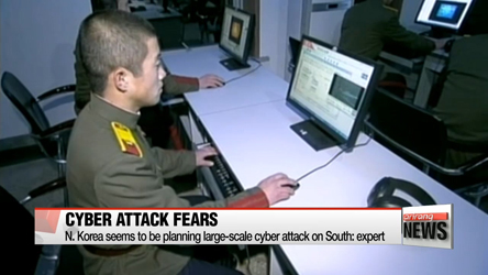 N. Korea seems to be planning large-scale cyber attack on South: expert
