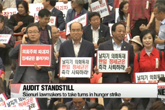 Bipartisan wrangling continues to hold up parliamentary audit