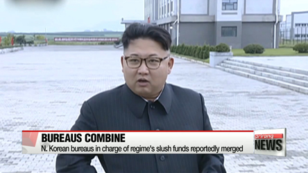 N. Korean bureaus in charge of regime's slush funds reportedly combined
