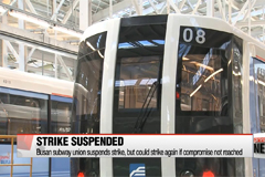 Busan subway union suspends strike, seeks compromise