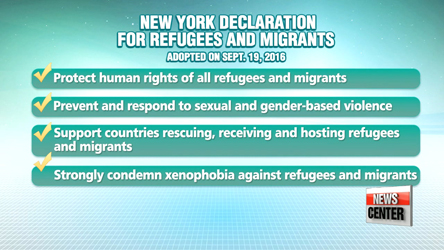UN General Assembly spotlights refugees and migrant crisis and climate change