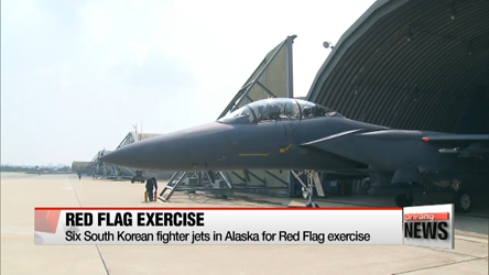 Six South Korean fighter jets in Alaska for Red Flag exercise