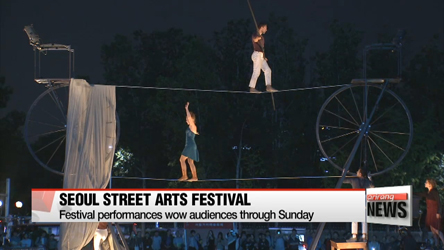 Seoul Street Arts Festival wows audiences across city