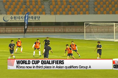 Korea to face Qatar and Iran in World Cup qualifiers