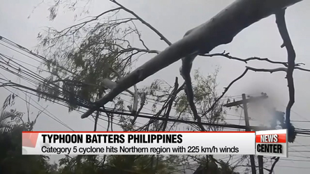 Super Typhoon Haima Batters Philippines