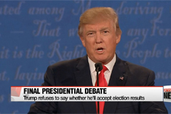 Trump and Clinton go head-to-head at final debate before election