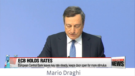 ECB holds key rate steady but hints on more stimulus coming