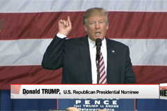 Trump says he will accept election results