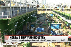 IMF says it'll take ten years to recoup losses due to reforms in shipyard industry