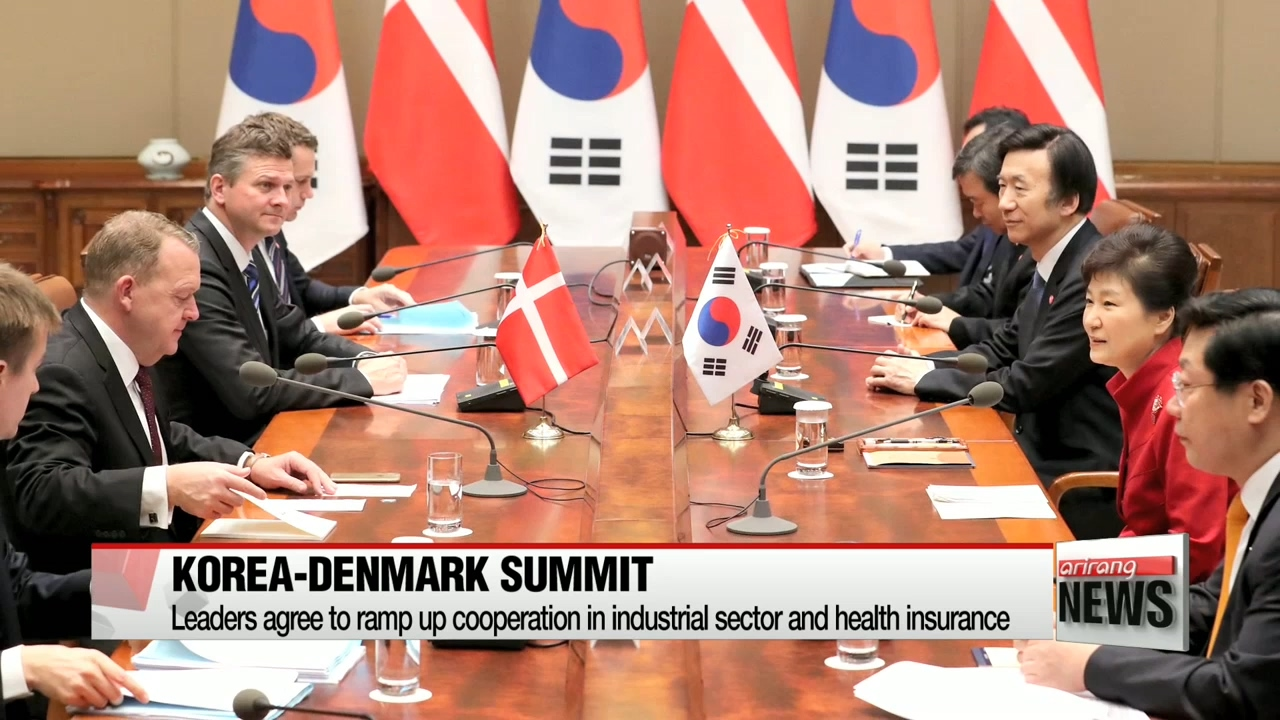 Korea-Denmark summit: Leaders agree to ramp up practical industrial cooperation