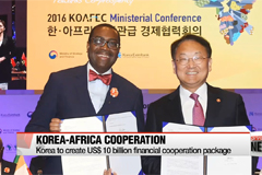 Korea to create US$ 10 bil. economic cooperation package for Africa
