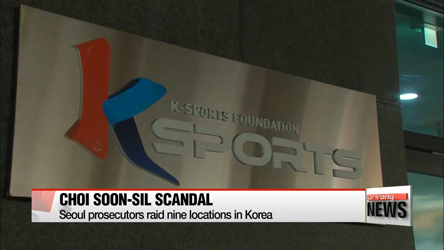 Seoul prosecutors raid offices and homes implicated in Choi Soon-sil scandal