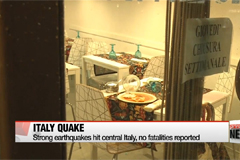 Strong earthquakes hit central Italy, no fatalities reported