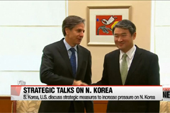 S. Korea, U.S. discuss strategic measures on increasing pressure on N. Korea